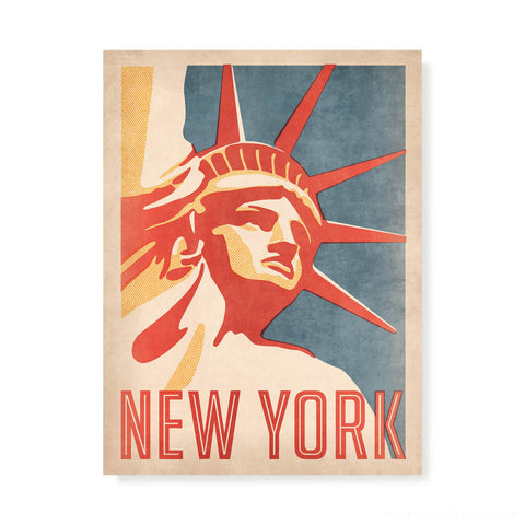 Statue of Liberty, New York Colour Print