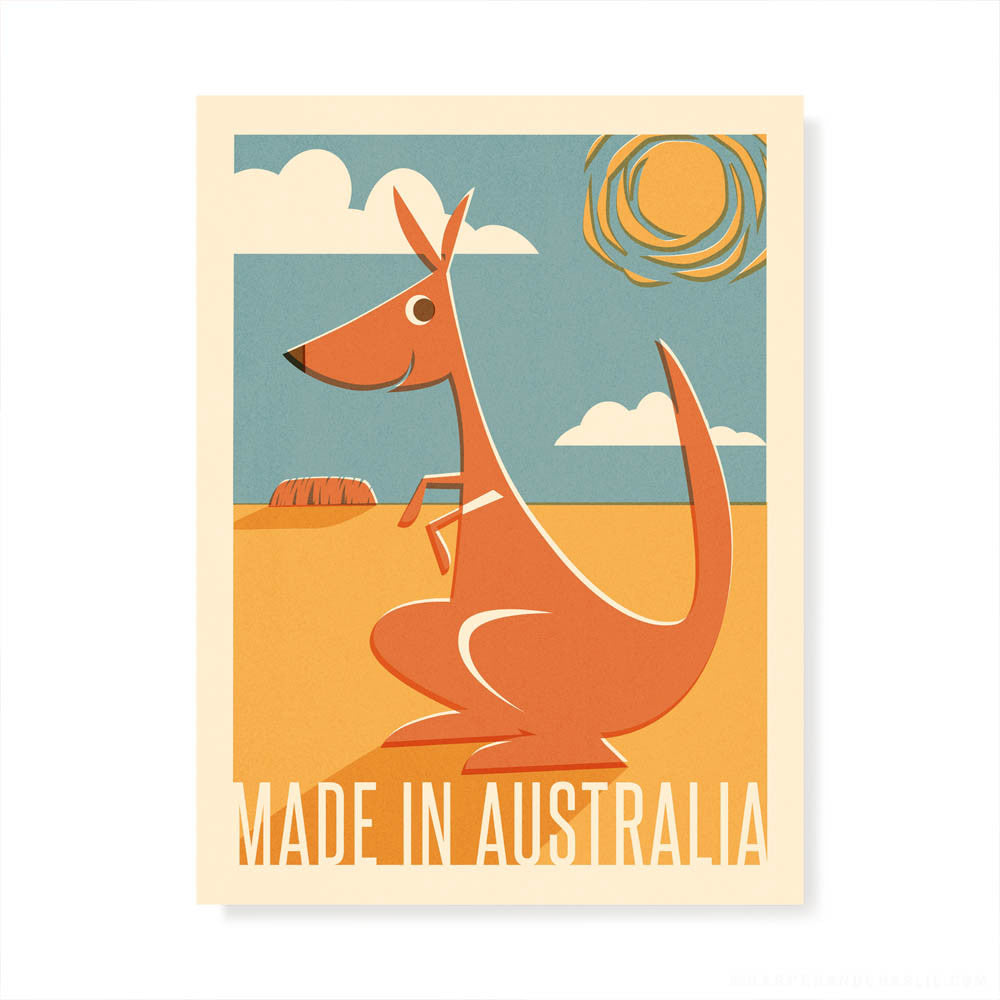 Made in Australia Kids' Colour Print