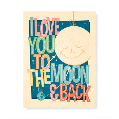 I LOVE YOU TO THE MOON & BACK CONSTELLATION
