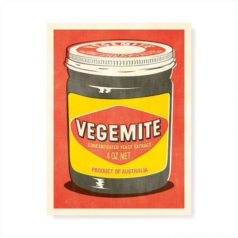 Vegemite Multiple Pop Art
