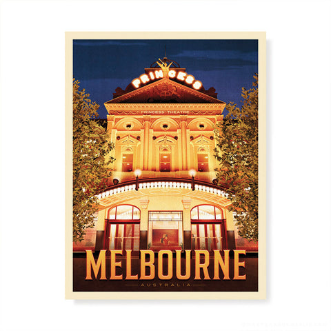 Vault, Melbourne Colour Print