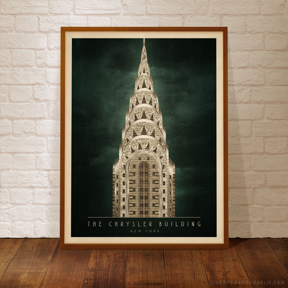 The Chrysler Building, New York (4:3 Proportion)