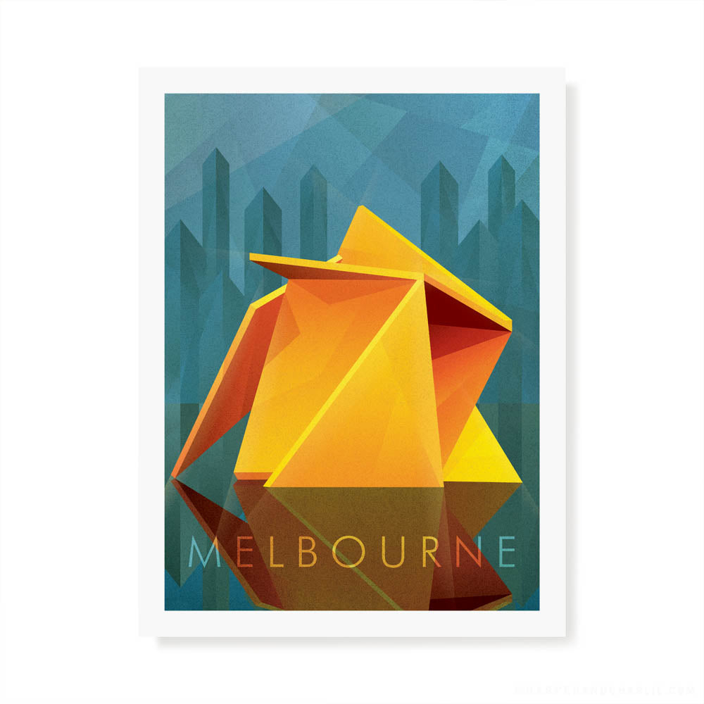 Vault Melbourne colour print