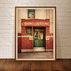 Young & Jackson Hotel Melbourne Colour Print