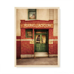 Young & Jackson Hotel Melbourne Colour Print by Harper and Charlie