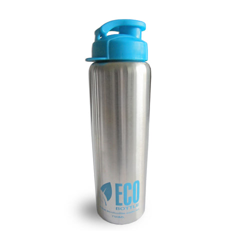 Stainless Steel Water Bottle Eco Blue