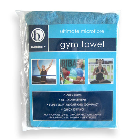 Bambury Gym Towel - Teal