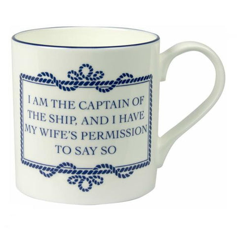 "Mug ""I Am The Captain..."""
