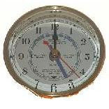 Brass Table Tide/Time Clock 3""