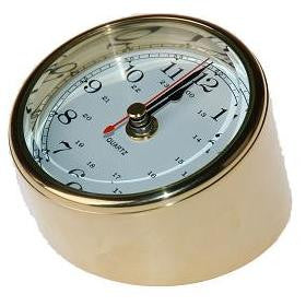 Brass Table Clock 3""