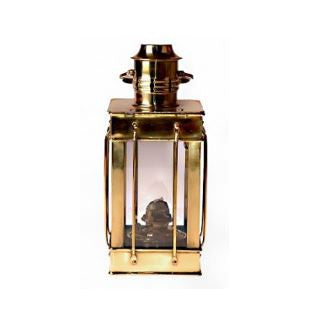 "Brass Cargo Lamp 10.5"" Oil"