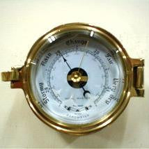 Brass Latch Barometer 5""