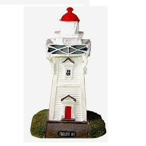 NZ Model Lighthouse -Timaru