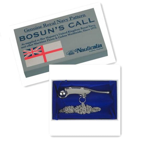Nickel Bosun's Call in Box
