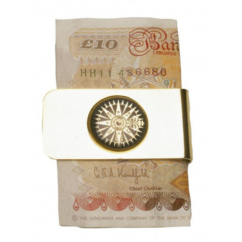 Money Clip-Compass Rose