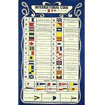 "Galley Cloth ""International Code Flags"""