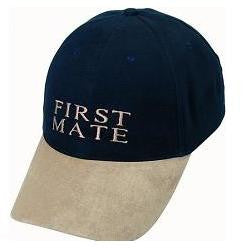 "Yachting Cap ""First Mate"""