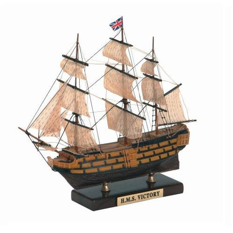 Model Boat - HMS Victory Tribute Model 90mm with Stand