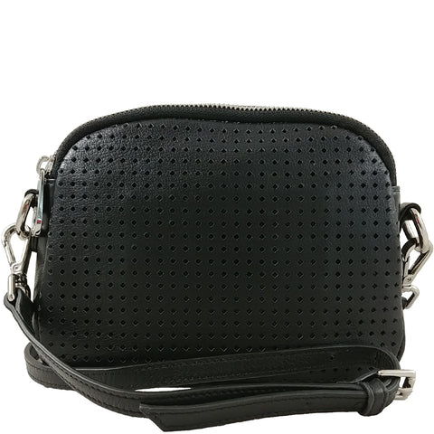 Highland mini Double Zip Crossbody