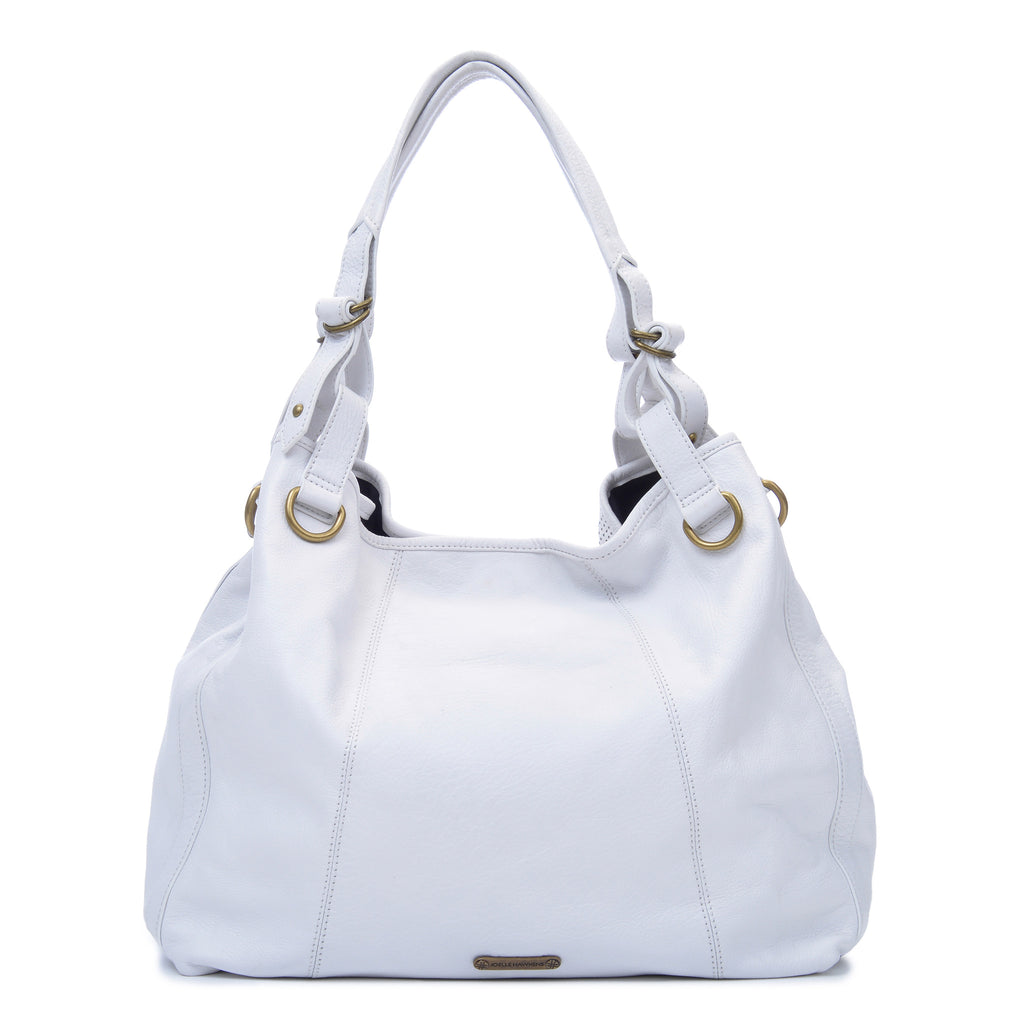 Joelle Hawkens Erin Tote Ice Leather Back