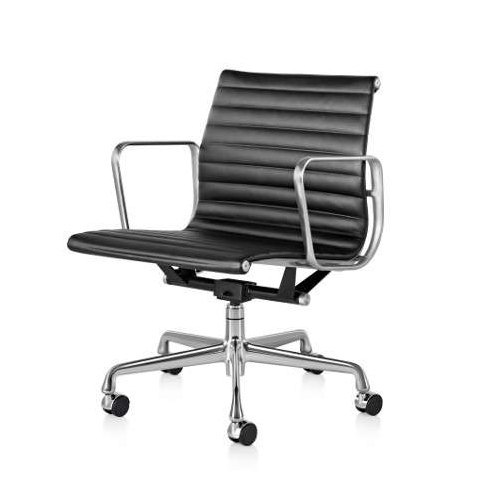 TR75008 Eames Style EA117 Aluminium Group Low Back Office Chair