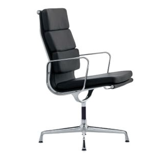TR75003 EA217 Eames Style Softpad Guest High Back Chair