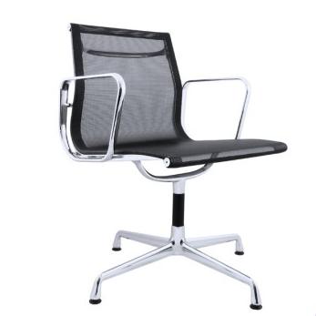TR75009 Eames Style EA117 Aluminium Group Guest Low Back Office Chair