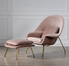 TR40019 Eero Saarinen Style Womb Chair and Ottoman