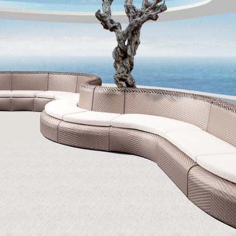 TR11001 Ekans Curvy Outdoor Seating