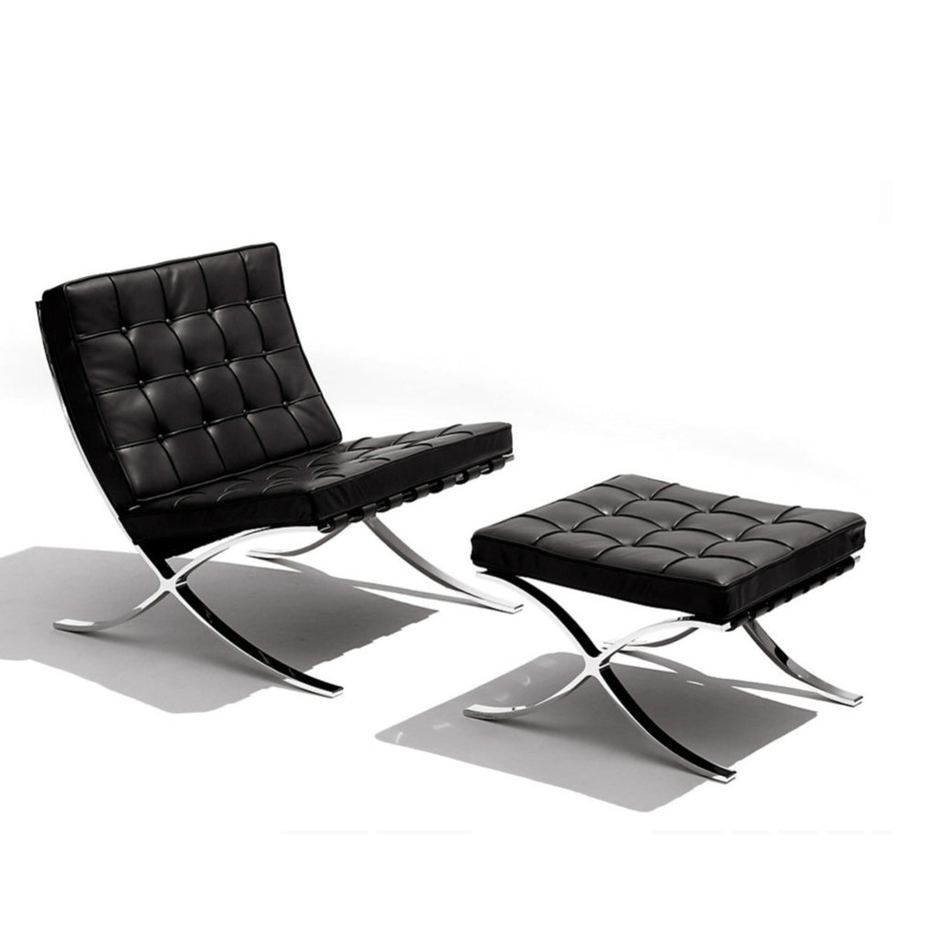 Tr40011 Ludwig Mies Van Der Rohe Style Barcelona Chair And