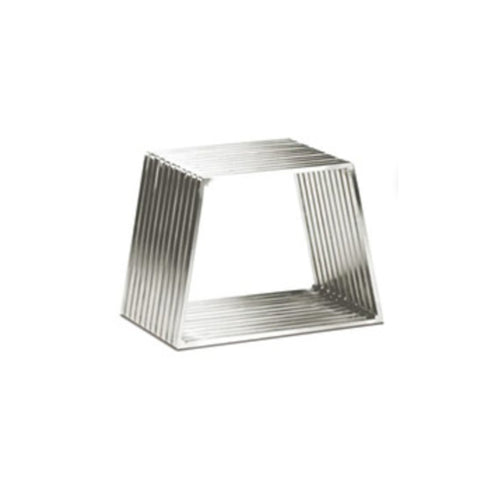TR45011 Aida stainless steel side tables
