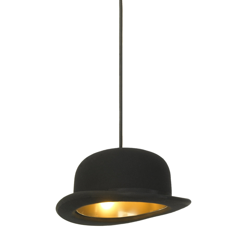 TR80093 Jeeves Bowler Style Hat Pendant Lamp
