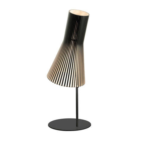 TR81003 Wooden Scandinavian Oyster Table Lamp