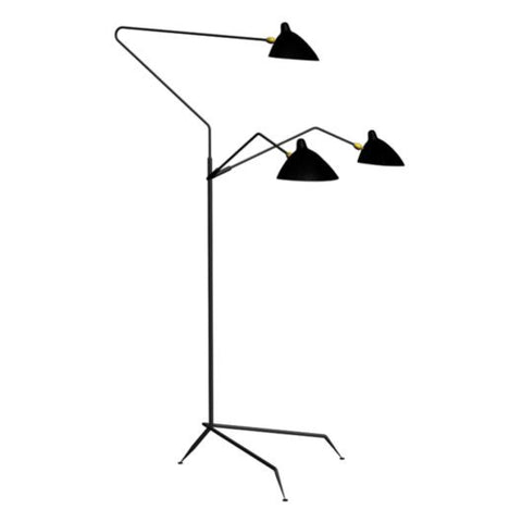 TR82005 Serge Mouille Style Rotating Floor Lamps
