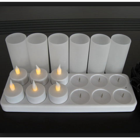 TR95100 Rechargeable Tea Light Set with remote control