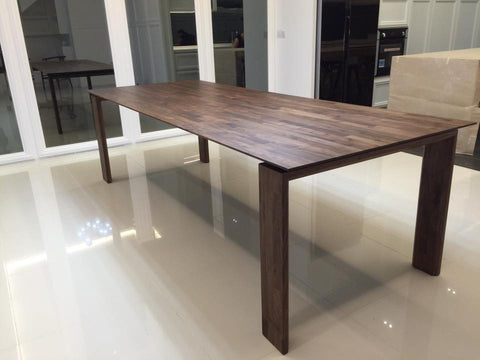 TR70019 The Monaldo Solid American Walnut Dining Table