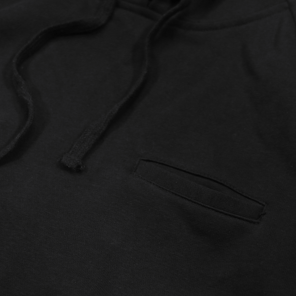 Gramercy 2.0 French Terry S/S Hoody - Black (02.19.19 RELEASE)