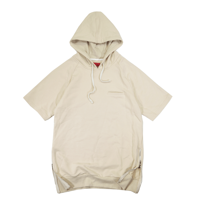 Gramercy 2.0 French Terry S/S Hoody - Cream (02.19.19 RELEASE)