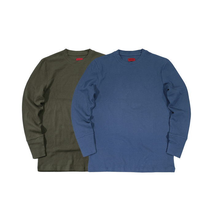 2-Pack SI Waffle Knit LS
