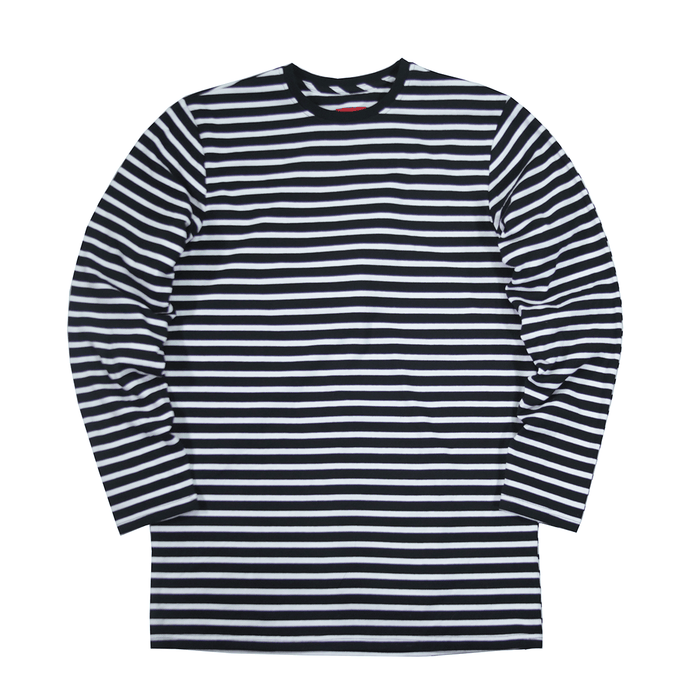 Standard Striped L/S Essential - Black/White (02.14.19 Release)