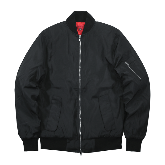 Standard Issue MA-1 Bomber Jacket - Black
