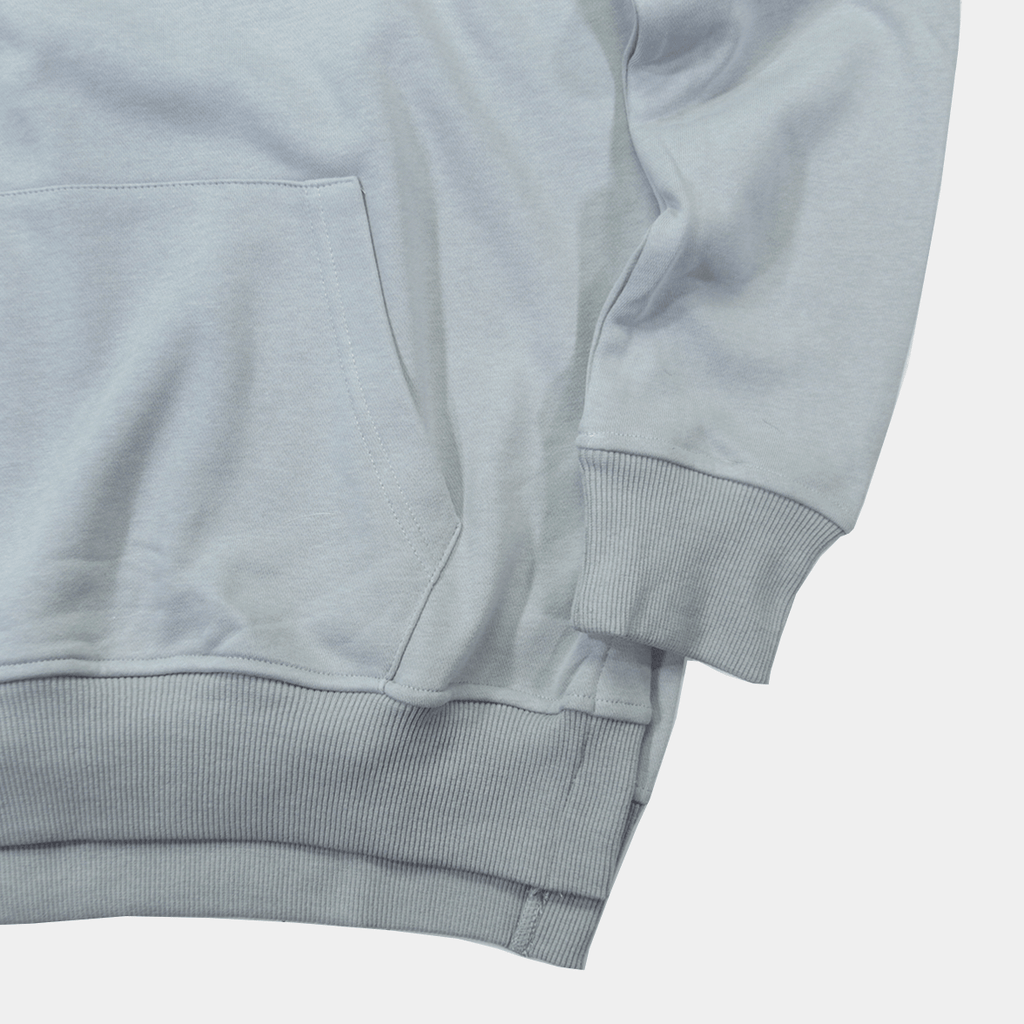 Side Cut Quarter Zip Hoodie - Cement(01.22 Release)