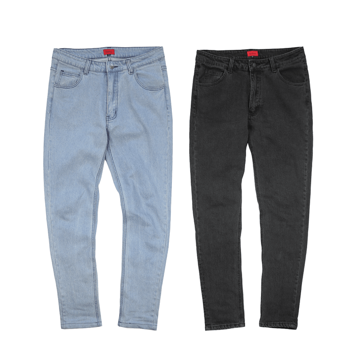 2-Pack SI Denim - Dark Grey/Light Blue