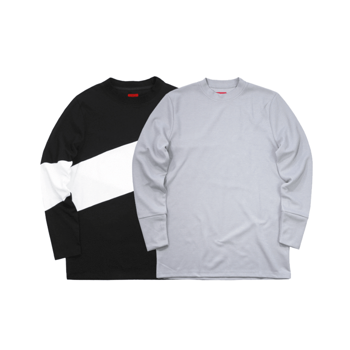 2-Pack SI LS - Larchmont/Waffle Knit