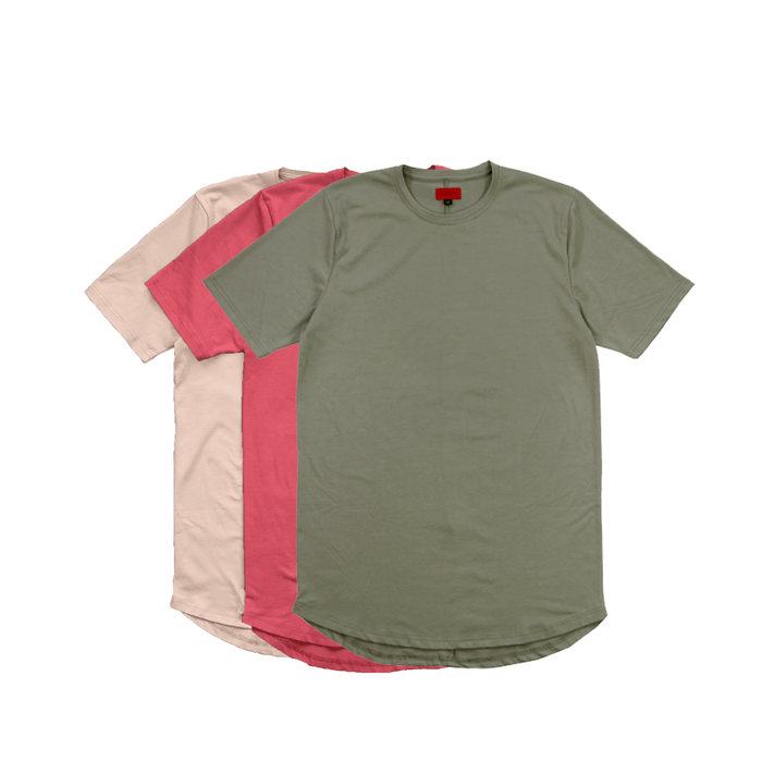 3-Pack Summer SI-12 Essential - Salmon/Olive/Tan