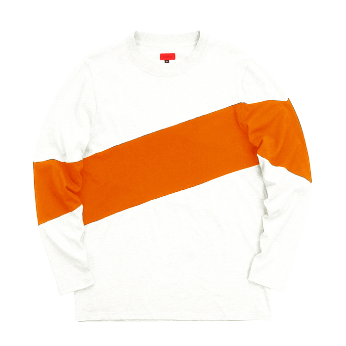 Larchmont Long Sleeve Shirt - Natural/Orange (10.08.20 Release)