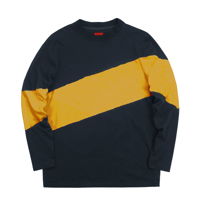 Larchmont Long Sleeve Shirt - Navy/Gold (10.08.20 Release)