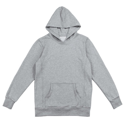 Classic Pullover Hoodie - Heather Grey