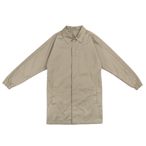 Twill Cutarm Mac Coat - Neutral