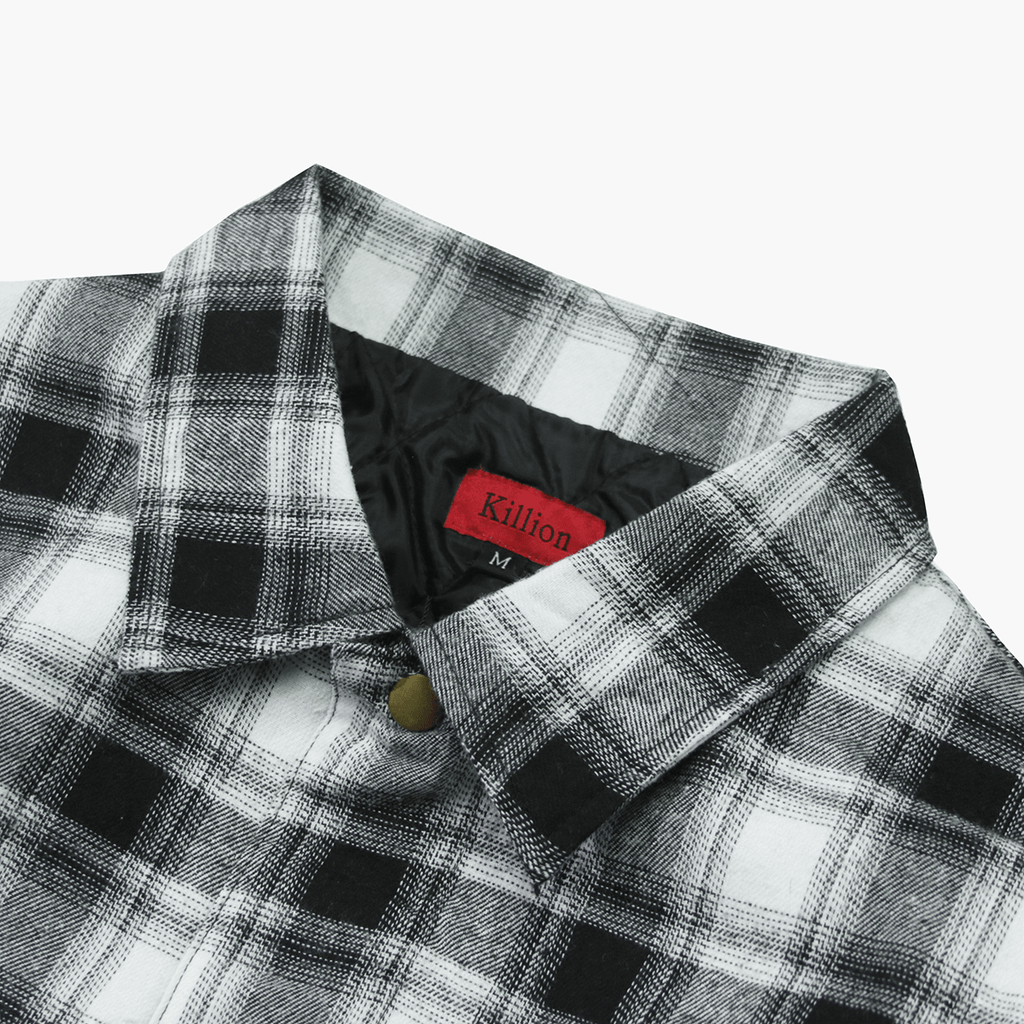 Babylon Flannel Jacket - Black/White